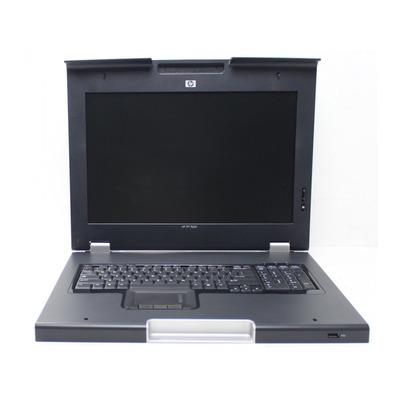 HP 406499-031 Rack console - Zilver