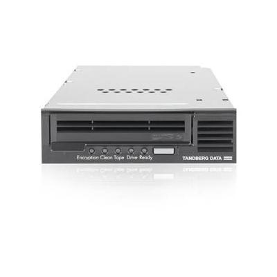 Tandberg data tape drive: LTO-5 HH SAS - Zwart