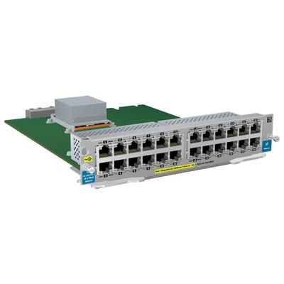 Hewlett Packard Enterprise HP 24-port 10/100 PoE+ v2 zl Module Netwerk switch module