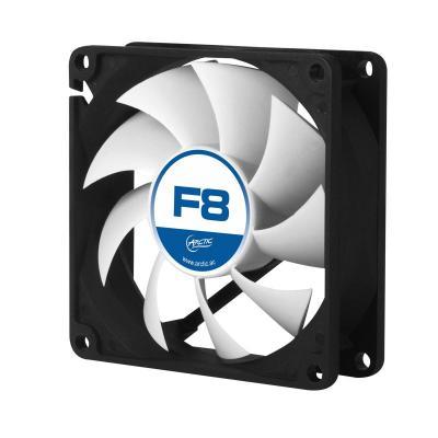 Arctic Hardware koeling: F8 - Zwart, Wit