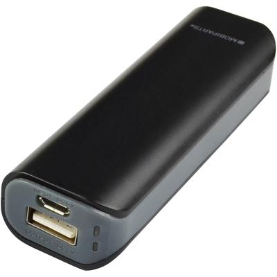 Mobiparts 36448 Powerbank - Zwart, Grijs