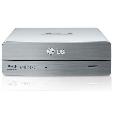 Lg brander: 12x Blu-ray Multi Drive USB3.0 extern - Zilver