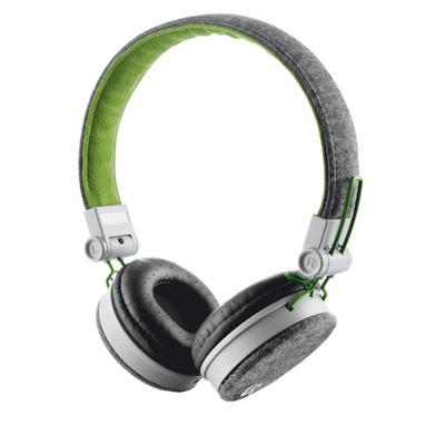 Urban Revolt Fyber Headset - Groen,Grijs