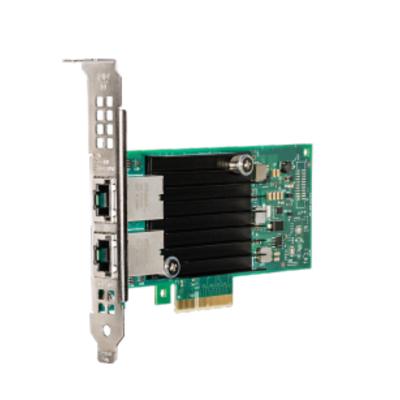 Intel Ethernet Converged Network Adapter X550-T2 Netwerkkaart - Zwart,Groen