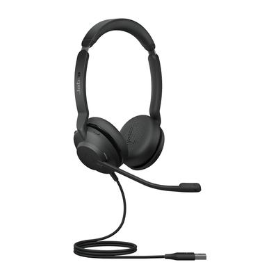 Jabra Evolve2 30, UC Stereo Headset - Zwart