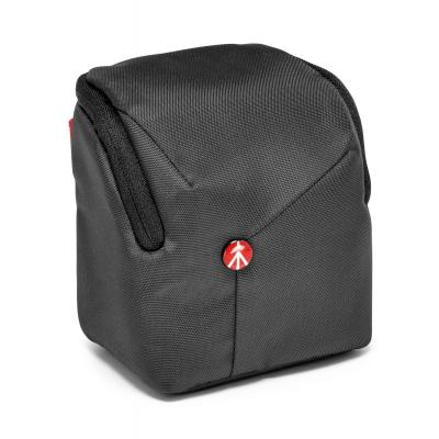 Manfrotto cameratas: Grey medium pouch for Compact System Camera - Grijs