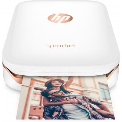 HP Sprocket fotoprinter - Wit