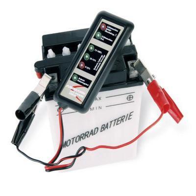 Ansmann tester: Vehicle power check - Zwart