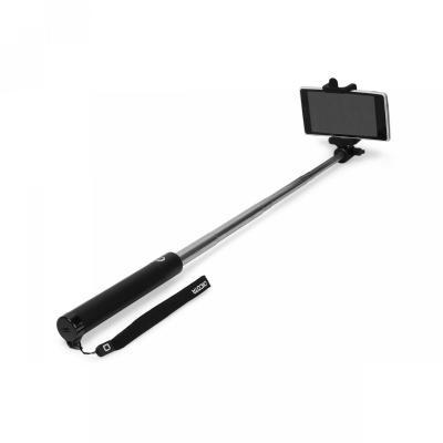 Dicota : Selfie Stick Premium - Zwart, Roestvrijstaal
