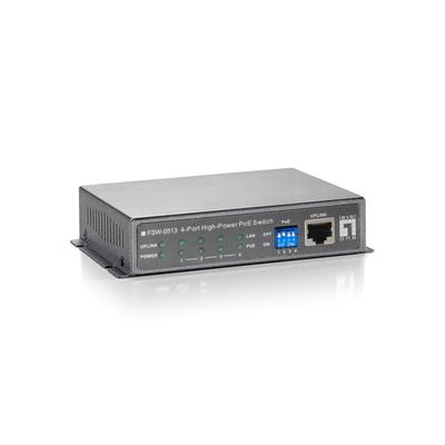 LevelOne FSW-0513 Switch - Zwart,Grijs
