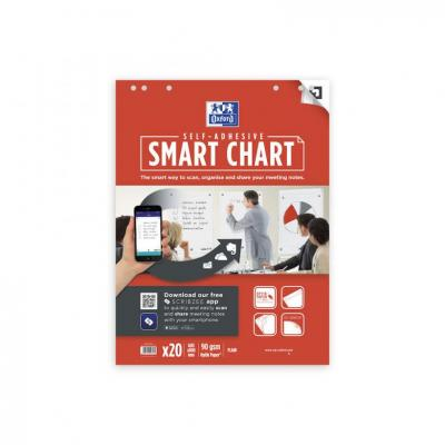 Oxford 60x80cm - Soft Card Cover - Glued - Plain - 20 Sheets - SCRIBZEE Compatible