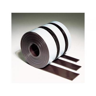 Legamaster magnetisch bord: Magneetband zelfklevend rol 12,5x3m br.