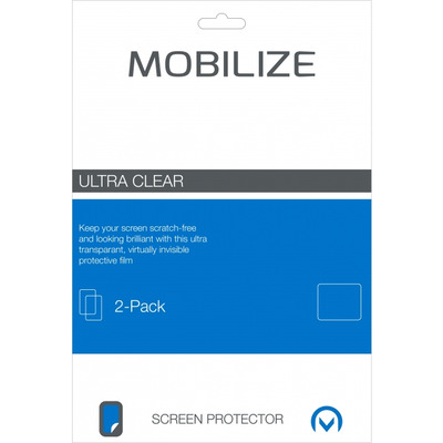 Mobilize Clear 2-pack Screen Protector Samsung Galaxy Tab A 10.1 2016 - Transparant