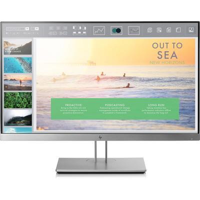 """HP EliteDisplay E233 23"""" FHD IPS Monitor - Zwart, Zilver"""