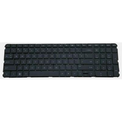 HP Keyboard (European), Black notebook reserve-onderdeel - Zwart