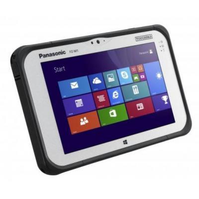 Panasonic tablet: Toughpad FZ-M1 - Zwart, Zilver