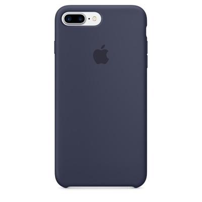 Apple mobile phone case: Siliconenhoesje voor iPhone 7 Plus - Middernachtblauw
