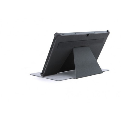 ROCK Texture Case Microsoft Surface, Dark Grey Tablet case - Grijs