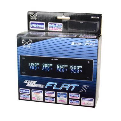 Scythe ventilator snelheidcontroller: Kaze Master Flat II - Zwart