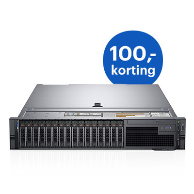 DELL PowerEdge R740 Server - Zwart