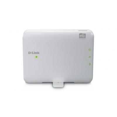 D-Link wireless router: 802.11 b/g/n, 802.3, Fast Ethernet, 1 x RJ-45, 1 x USB, 125g