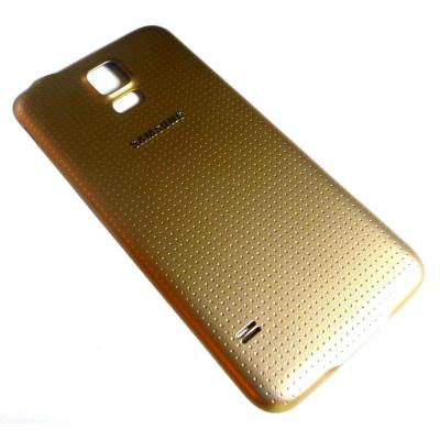 Samsung mobile phone spare part: Battery Cover, Gold