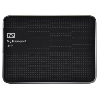 Western digital externe harde schijf: 500GB My Passport Ultra - Zwart