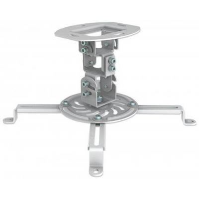 Manhattan projector plafond&muur steun: Universal Projector Ceiling Mount, 13.5 kg - Wit