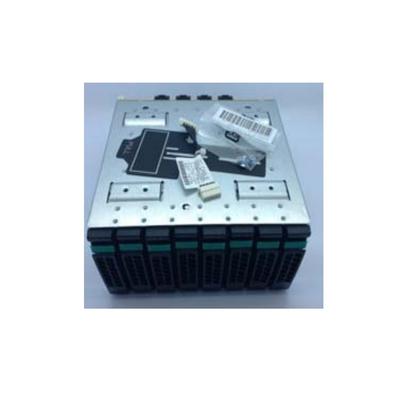 Intel drive bay: 2U Hot-swap 8x2.5 inch Dual Port Upgrade Drive Bay Kit A2U8X25S3DPDK2 - Zwart, Roestvrijstaal