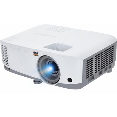 "Viewsonic 3600 Lumen, DLP, WXGA, 16:9, 30-300"", 100-240V, 50/60Hz, 396x110x218mm, 2.2 kg, White Beamer - Wit"