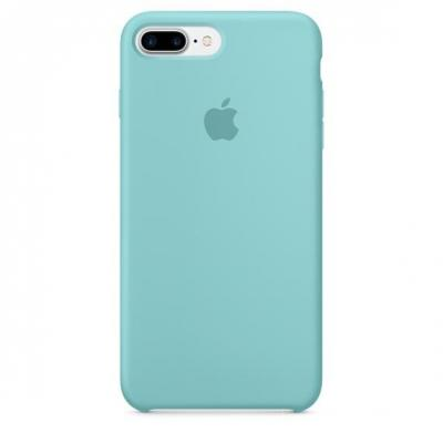 Apple mobile phone case: Siliconenhoesje voor iPhone 7 Plus - Zeeblauw
