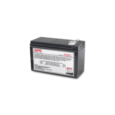 APC Batterij Vervangings Cartridge RBC110 UPS batterij - Zwart