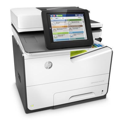 HP PageWide Enterprise Color 586dn Multifunctional - Zwart,Wit