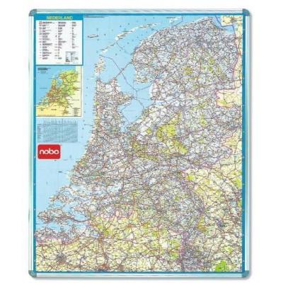 Nobo kaart: MAGN AUTOKAART NEDERLAND - Multi kleuren