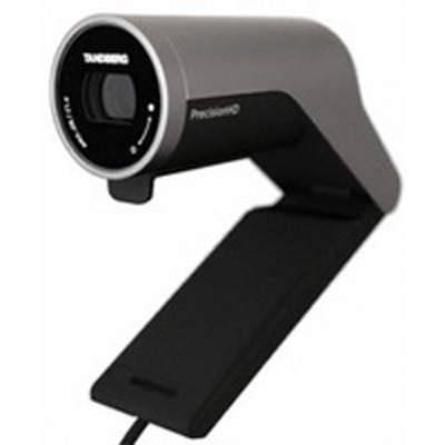 Cisco webcam: PrecisionHD - Zwart, Zilver