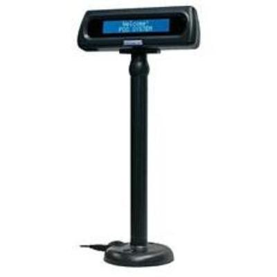 Glancetron 8035 Paal display - Zwart