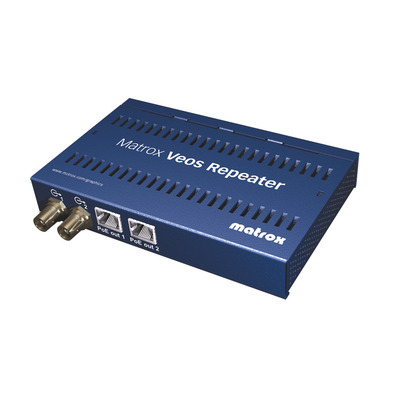 Matrox AV extender: Veos Repeater Unit - Blauw