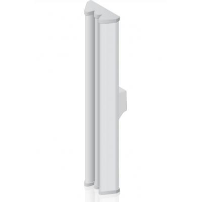 Ubiquiti networks antenne: 2x2 MIMO BaseStation Sector Antenna, 3 GHz, 18 dBi - Wit