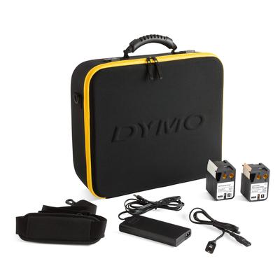 Dymo labelprinter: XTL 500 Kit - Zwart, Geel, QWERTZ