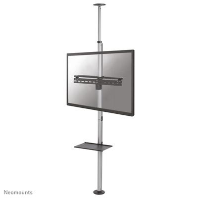 Neomounts by Newstar monitor plafond-tot-vloersteun TV standaard - Zilver