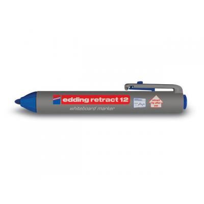 Edding markeerstift: Retract 12 - Blauw, Grijs