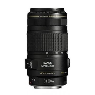 Canon camera lens: EF 70-300mm f/4-5.6 IS USM - Zwart