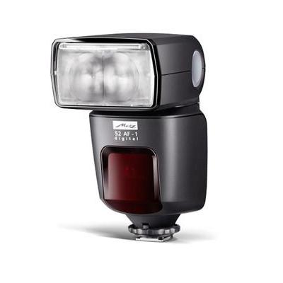 Metz camera flitser: mecablitz 52 AF-1 digital - Zwart