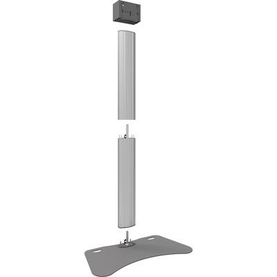 SmartMetals 90'', 67kg, 1.9m, grijs TV standaard