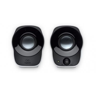 Logitech draagbare luidspreker: LGT-Z120 - Zwart, Zilver