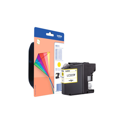 Brother inktcartridge: Inktcartridge GEEL