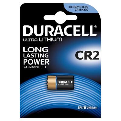 Duracell batterij: CR2 - Zwart