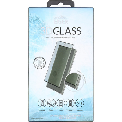 Case Friendly Glass Screenprotector Samsung Galaxy Note 10 - Zwart / Black Mobile phone case