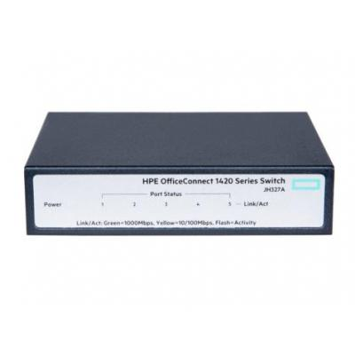 Hewlett Packard Enterprise OfficeConnect 1420-5G Switch - Grijs