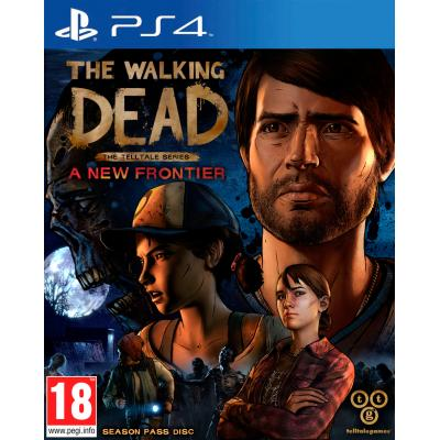 Warner bros game: Walking Dead 3, The Telltale Series - A New Frontier  PS4